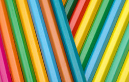 Color crayons background Royalty Free Stock Photography