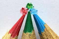 Color, Crayons, Colored, To Color Royalty Free Stock Images