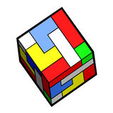 Color cube Stock Image