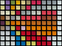 Color cubes Stock Images
