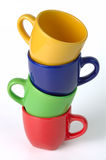 Color cup Royalty Free Stock Photography