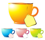 Color Cup of Tea Stock Photography