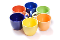 Color Cups Stock Images