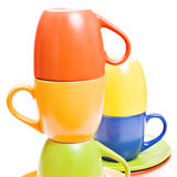 Color cups Royalty Free Stock Photography