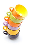 Color cups Royalty Free Stock Photos