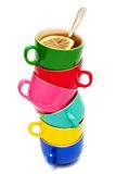 Color cups Stock Photos