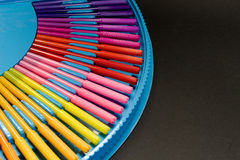 Color curve Stock Photos