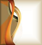 Color curve lines background Royalty Free Stock Images