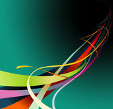 Color curves  Stock Photography