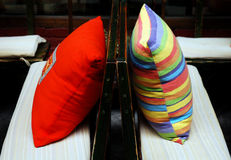 Color cushion Stock Photography
