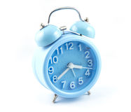 Color cyan Alarm clock Stock Photography