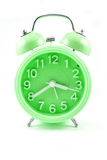 Color cyan Alarm clock Stock Photos