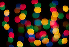 Color dar bokeh Royalty Free Stock Image