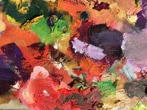 Color de aceite colorido imagen de archivo