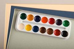 Color de agua Imagen de archivo libre de regalías
