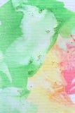 Color de agua Imágenes de archivo libres de regalías