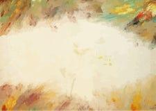 Color de agua en vieja textura de papel Foto de archivo libre de regalías