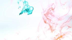 color de agua de la cámara lenta metrajes