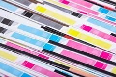 Color de CMYK Imagen de archivo