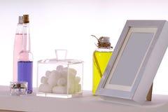 Color de cosméticos Imágenes de archivo libres de regalías