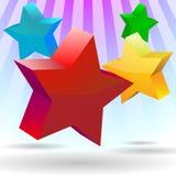 Color de estrella stock de ilustración