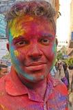 Color de Holi fotos de archivo