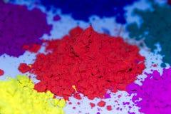 Color de Holi Fotos de archivo libres de regalías