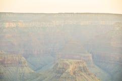 Color de la barranca magnífica foto de archivo libre de regalías