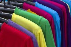 Color de la camisa Fotos de archivo libres de regalías