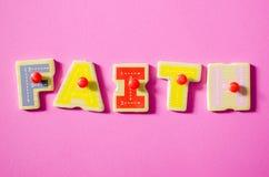 Color de la fe Foto de archivo libre de regalías