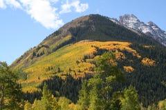 Color de la montaña Fotos de archivo libres de regalías