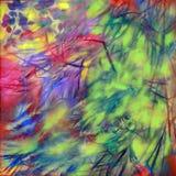 Color de la naturaleza - planta, petróleo en lona Fotografía de archivo libre de regalías