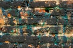 Color de la pared de ladrillo Imagen de archivo libre de regalías