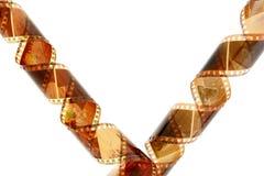 Color de la película Imagen de archivo libre de regalías