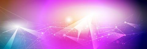 Color de la pendiente del diseño del marco metálico para el backgroundd Concepto moderno de la tecnología digital del diseño del  ilustración del vector