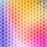 Color de la pendiente y vector azules del fondo del modelo del polígono del triángulo libre illustration