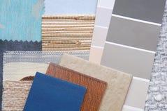 Color de la selección para el interior Fotos de archivo libres de regalías