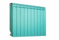 Color de la turquesa del radiador. Fotos de archivo libres de regalías