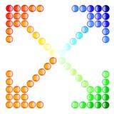Color de las flechas del botón Ilustración del Vector