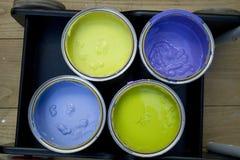 Color de las latas Fotos de archivo libres de regalías
