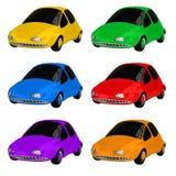 Color de los coches del juguete Imagen de archivo libre de regalías