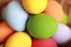 Color de los huevos Imagen de archivo
