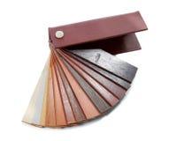 Color de madera de la muestra Fotos de archivo libres de regalías