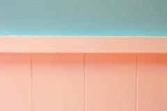 Color de madera de las paredes Imagen de archivo libre de regalías