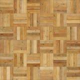 Color de madera inconsútil de la arena del ajedrez de la textura del entarimado Fotografía de archivo libre de regalías