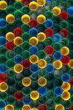 Color de pequeños vidrios Imagen de archivo