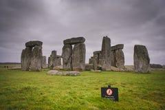Color de piedra de Henge Fotografía de archivo libre de regalías