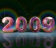 Color de rosa 2009 stock de ilustración