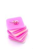 Color de rosa de la vela fotografía de archivo libre de regalías