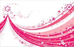 Color de rosa en el extracto blanco Imagen de archivo libre de regalías